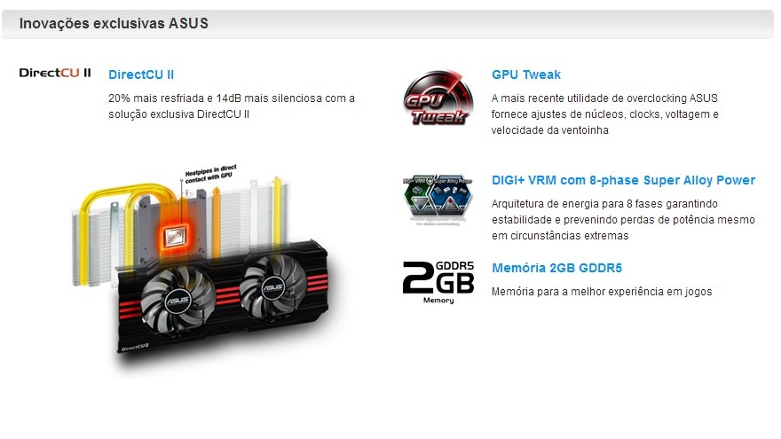 ASUS GTX 670 specials
