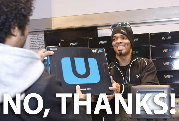 devolve Wii U