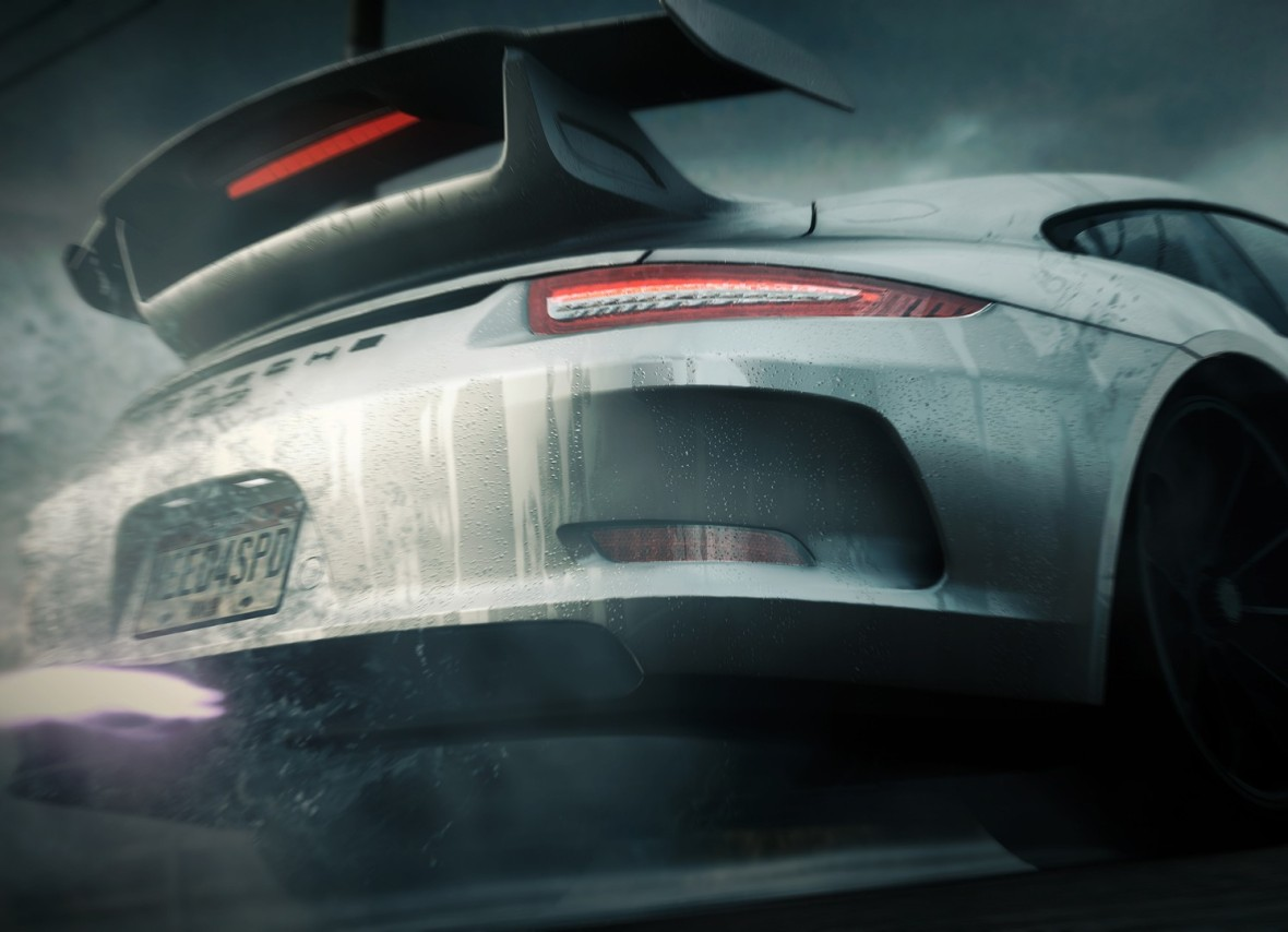 Need for Speed Rivals Porsche