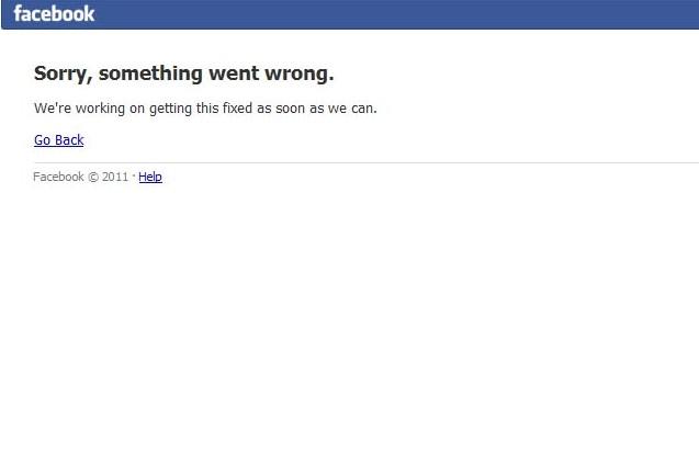 Facebook fora do ar protestos Brasil