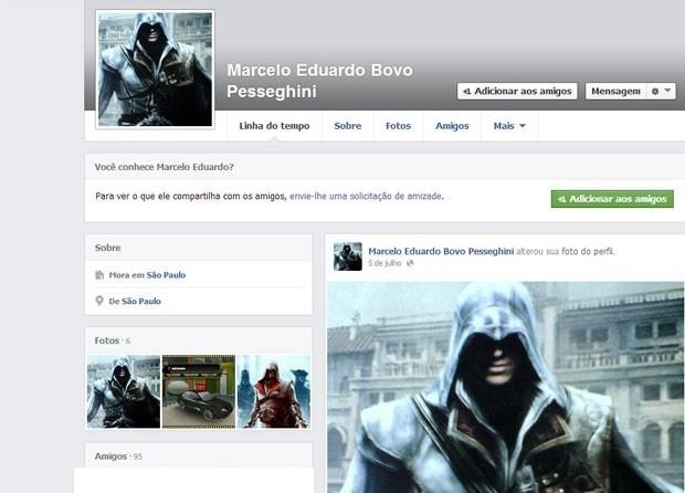 Facebook suspeito chacina
