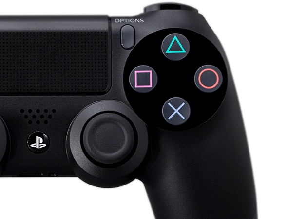 PS4 DualShock buttons