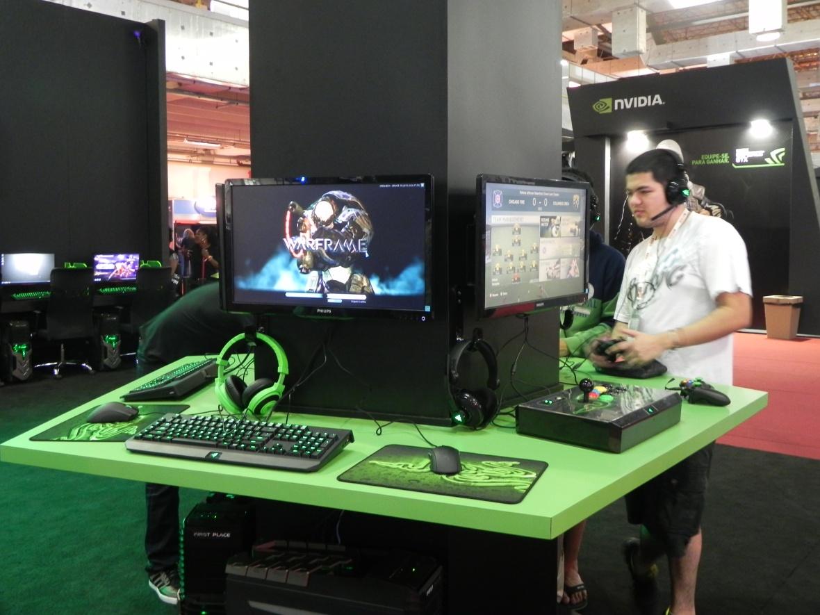 Brasil Game Show 2013 [BGS 2013] Razer produtos