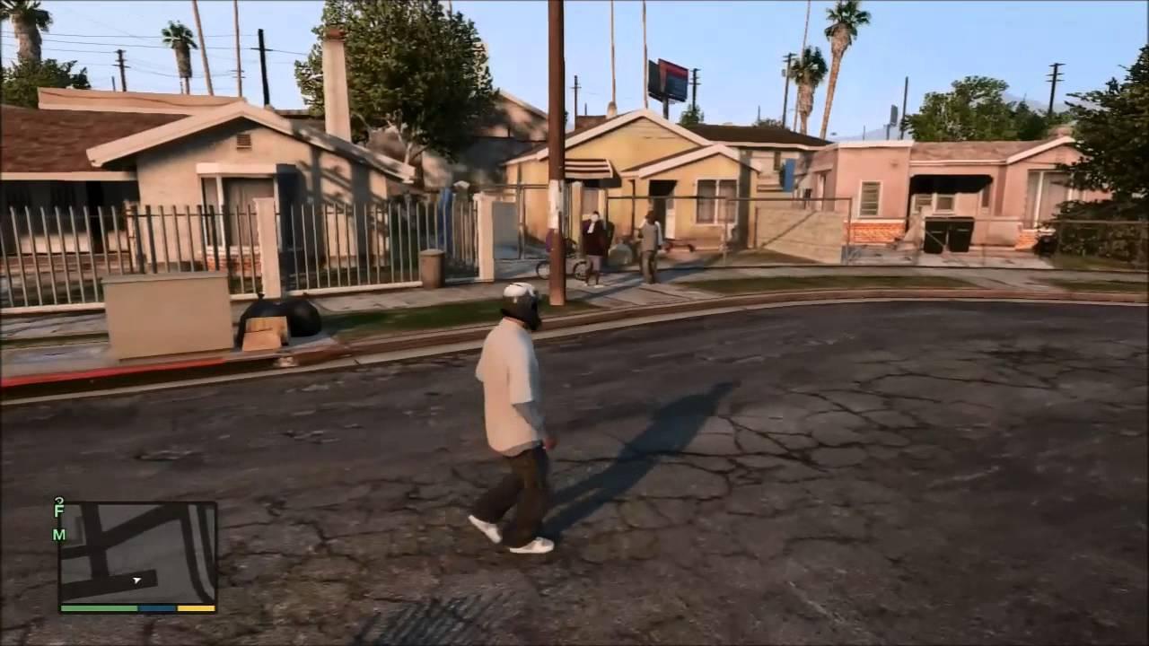 Image cj gtav transparent png gta wiki the grand theft auto wiki - Cj De Gta San Andreas Em Dlc Para Gta V Gta V Grove Street