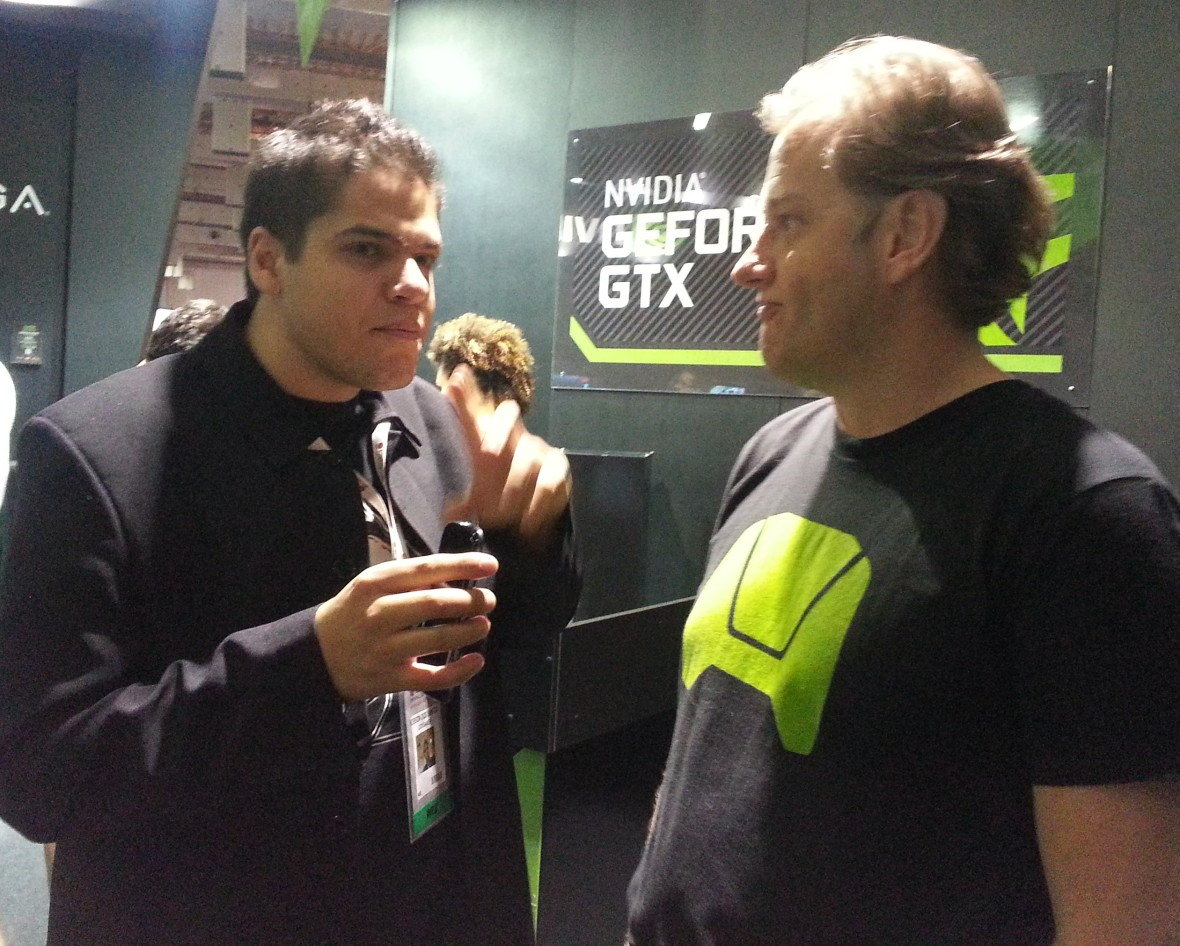 Brasil Game Show 2013 [BGS 2013] Entrevista com Richard Cameron Anderson Nvidia Brasil