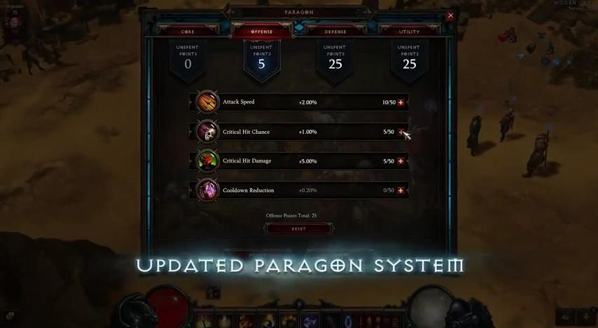 diablo adventure 4 update paragon
