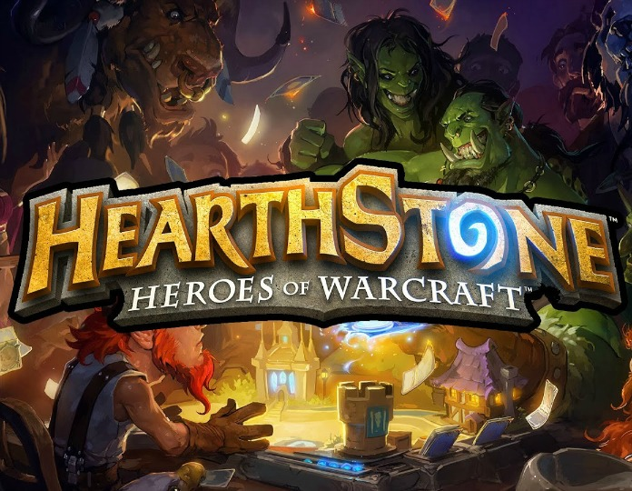 Hearthstone logo art