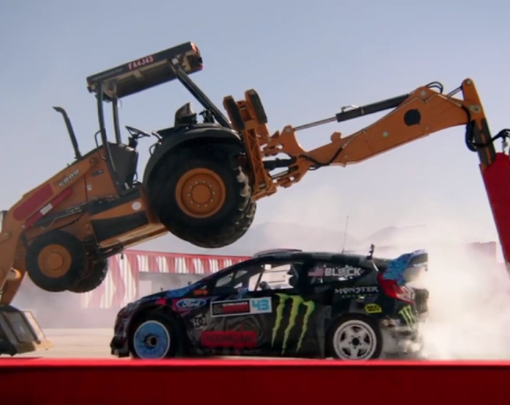 Ken Block gymkhana Need For Speed Rivals