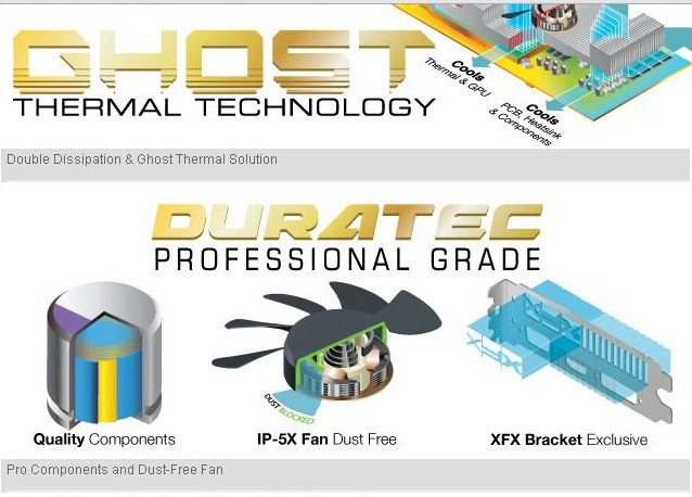 Duratec Professional XFX cooling
