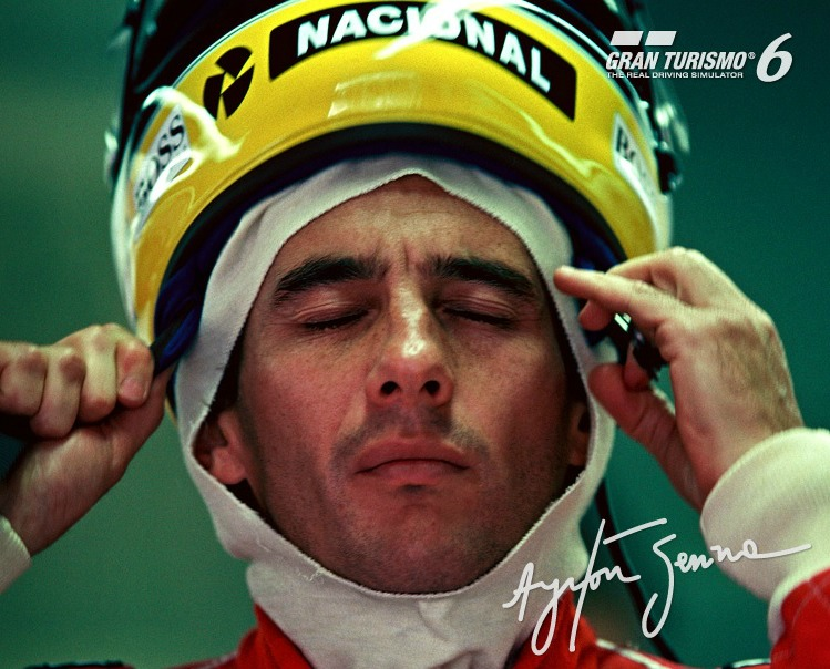 Ayrton Senna Gran Turismo 6 Lotus