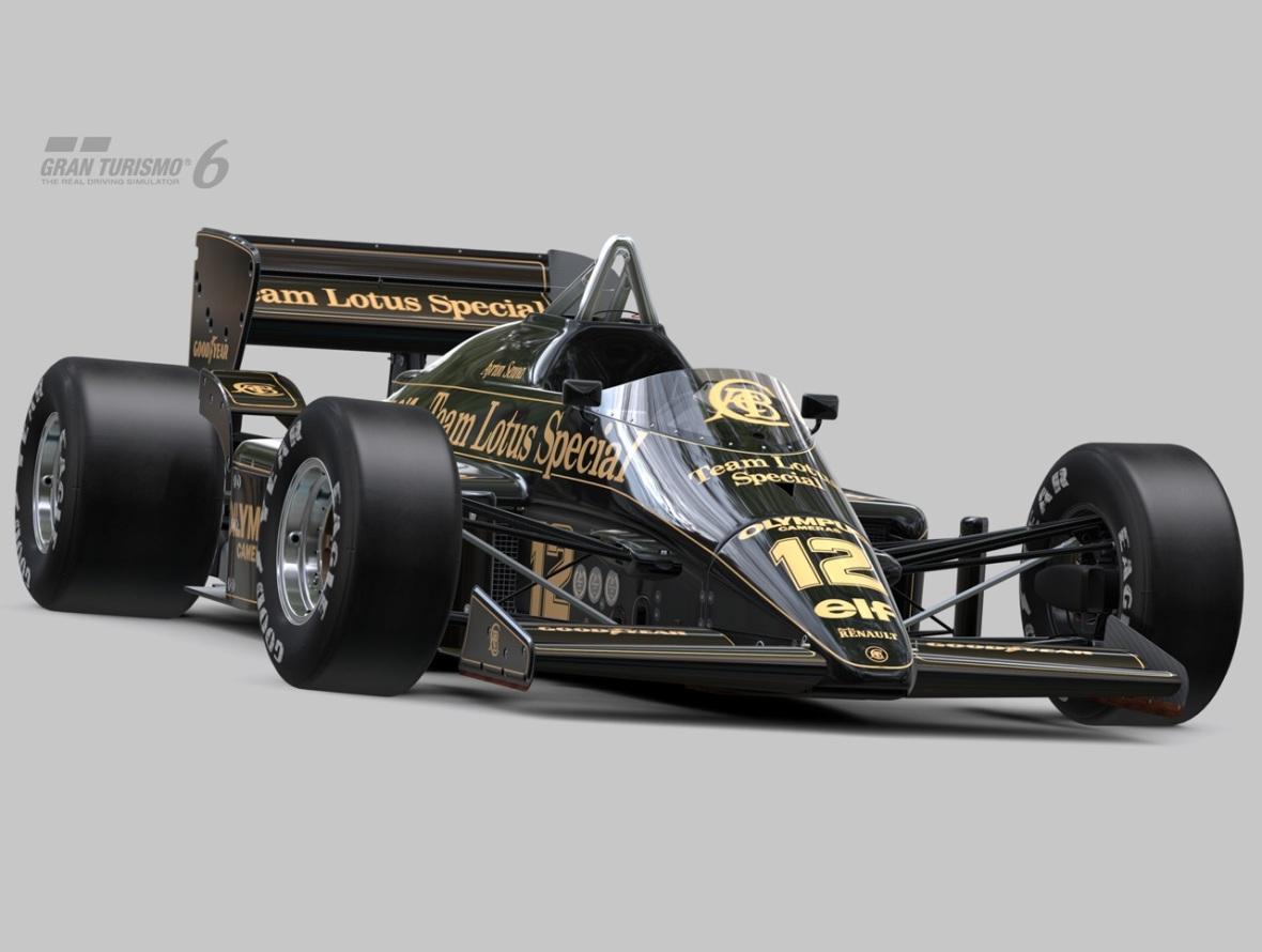 Lotus 97T Ayrton Senna Gran Turismo 6