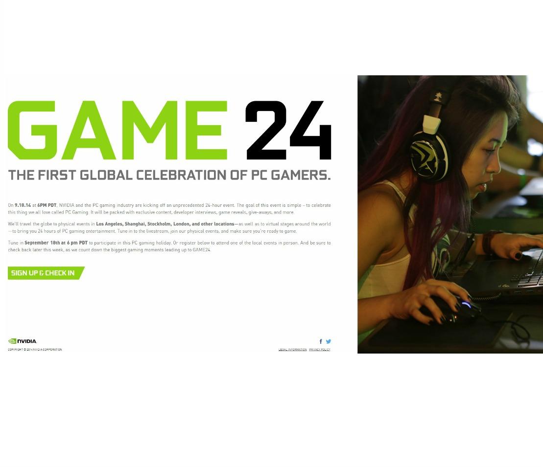 Game 24 Nvidia GTX 900 Maxwell