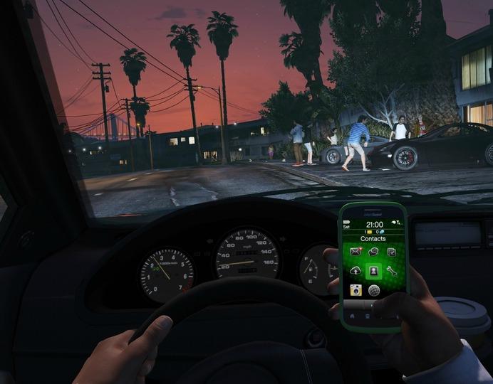 GTA_V_5_visão_primeira_pessoa_FPS_carro_veículo_interior_foto_imagem_gameplay_PC_PS4_XBOX_ONE