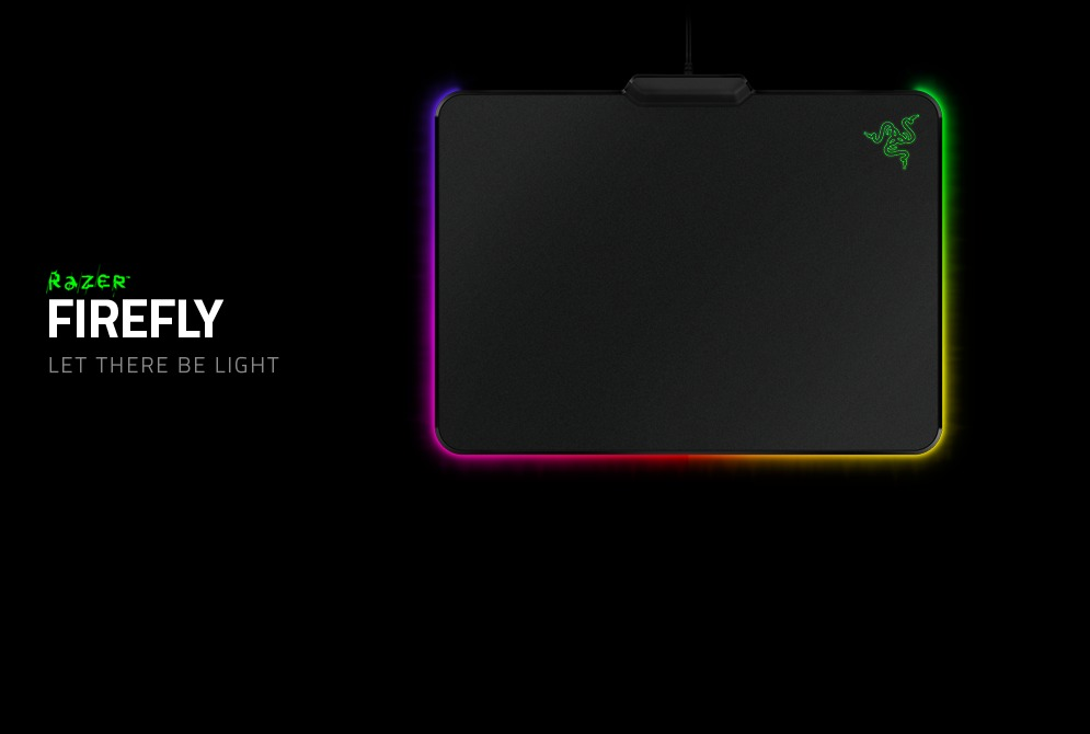 Razer apresenta mouse pad iluminado