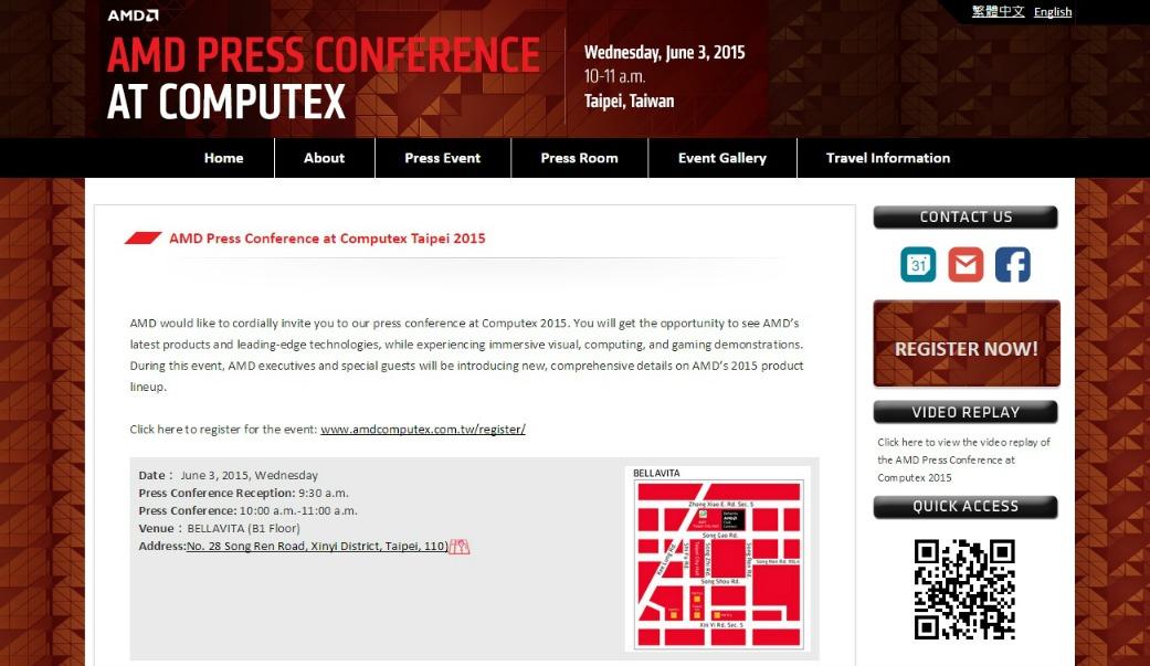 conferência_AMD_r9_300_fiji_computex
