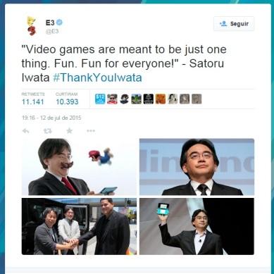 Iwata_homenagem_E3
