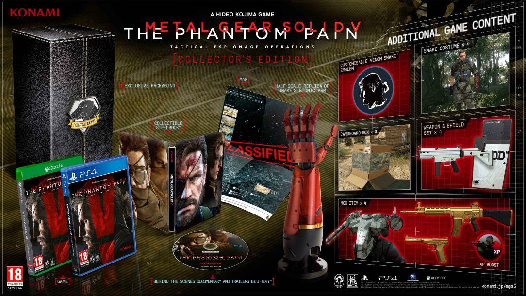 METAL GEAR SOLID V_THE PHANTOM PAIN_edição_colecionador