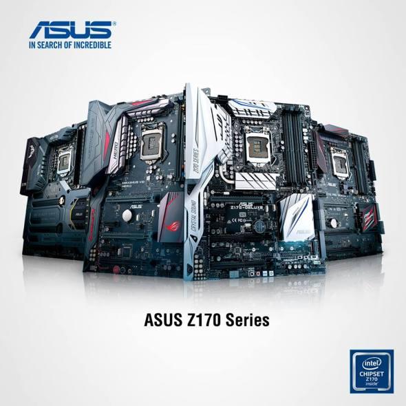 ASUS-serie-Z170-socket-LGA1151-DDR4