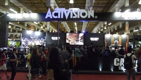 BGS2015 - Estande Activision
