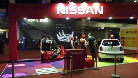 BGS2015 - Estande Nissan