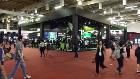 BGS2015 - Estande Nvidia Geral