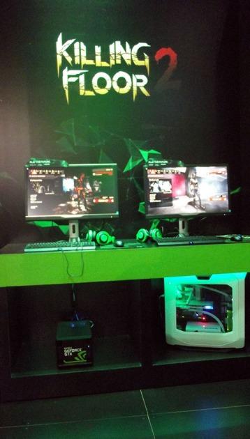 BGS2015 - Estande Nvidia Killing Floor 2