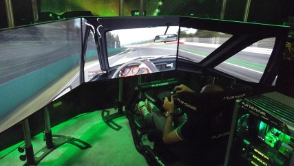BGS2015 - Estande Nvidia Project Cars 12K