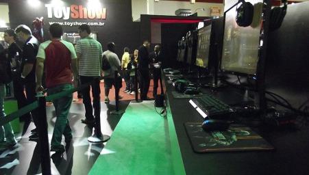 BGS2015 - Estande Nvidia