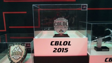 BGS2015 - Estande Pain Gaming Trofeu CBLOL 2015