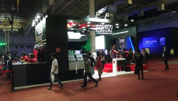 BGS2015 - Estande Pain Gaming