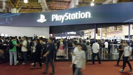 BGS2015 - Estande PlayStation