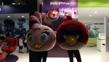BGS2015 - Estande Samsung VR Angry Birds