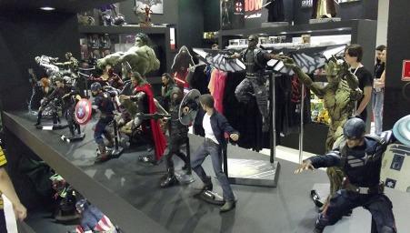 BGS2015 - Estande ToyShow Miniaturas