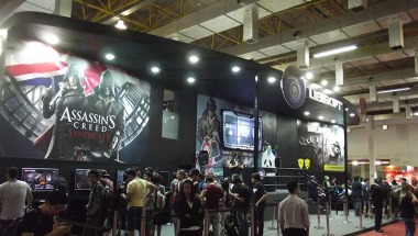 BGS2015 - Estande Ubisoft Assassins Creed Syndicate