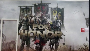 BGS2015 - Estande Ubisoft For Honor