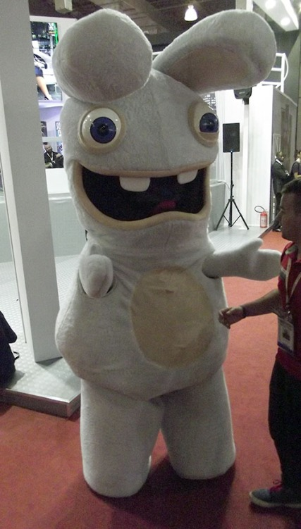 BGS2015 - Estande Ubisoft Happy Rabbid