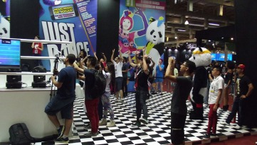 BGS2015 - Estande Ubisoft Just Dance