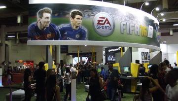 BGS2015 - Estande Warner FIFA 16