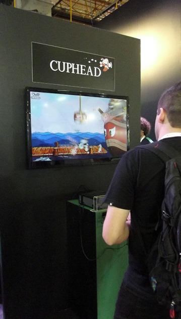 BGS2015 - Estande Xbox Cuphead