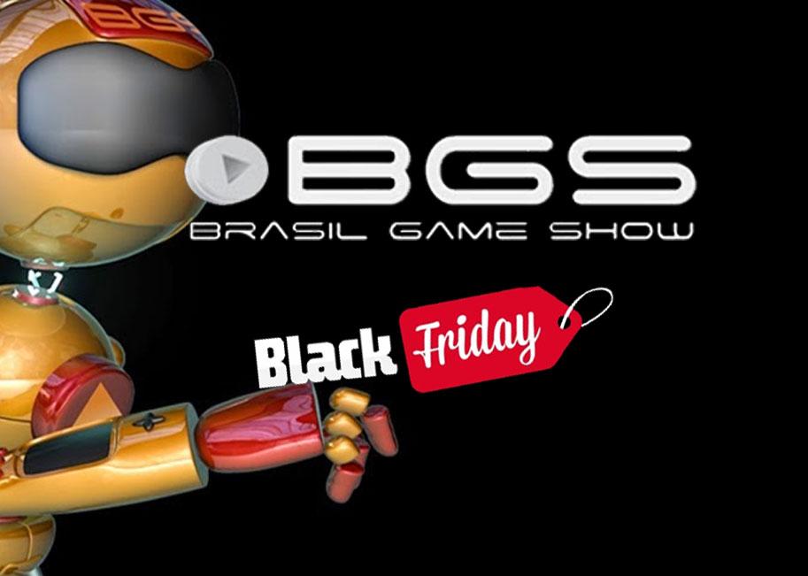 Black Friday 2015 –  BGS oferece ingresso com desconto de 65%