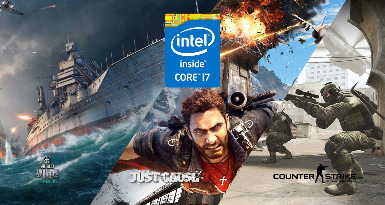 Compre um Intel Core i7 e ganhe jogos
