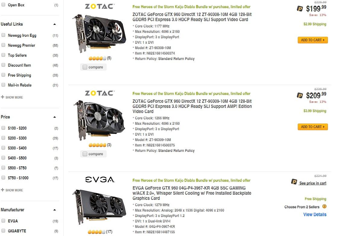 preço_EVGA_GTX_960_4GB