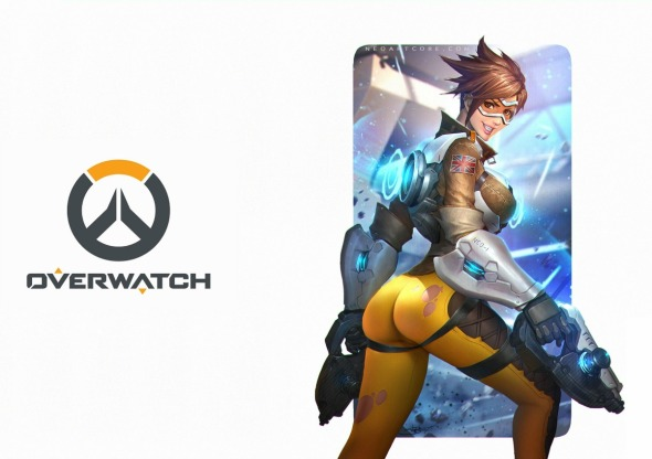 tracer-sexy-overwatch-logo-game-girl