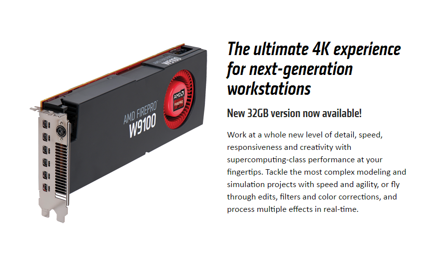 AMD-FirePro™-W9100-Professional-Graphics-32GB