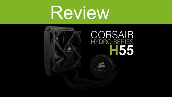 review CORSAIR H55