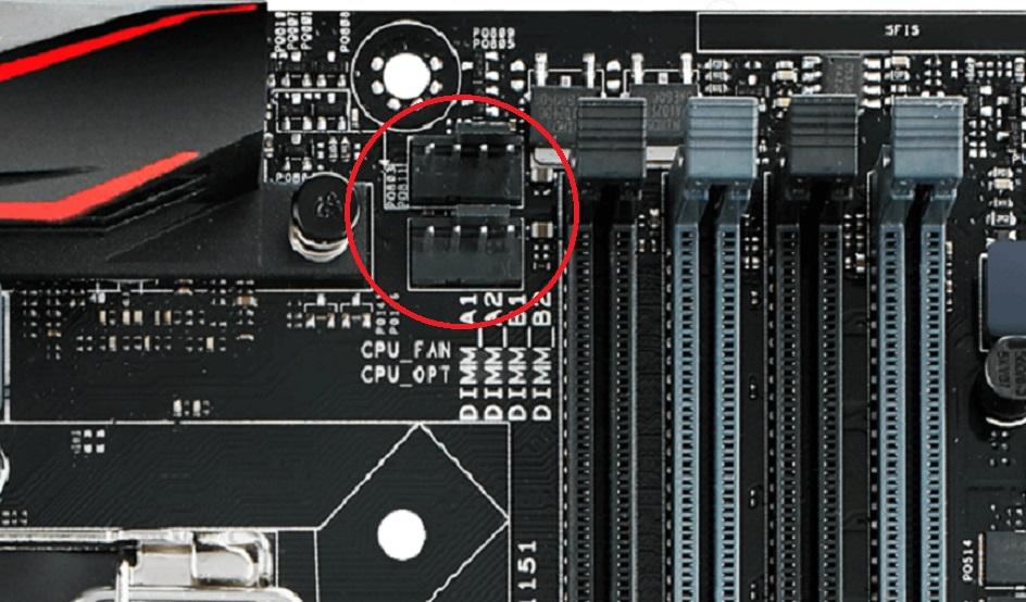 ASUS H170 Pro Gaming conecções cooler fan.jpg