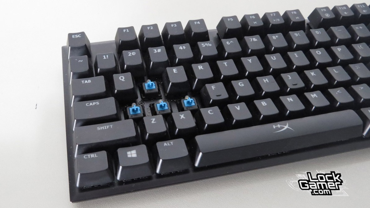 Alloy FPS teclado cherry mx switches