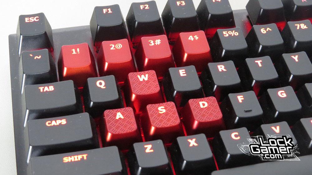 Alloy FPS teclado kyecaps extras textura