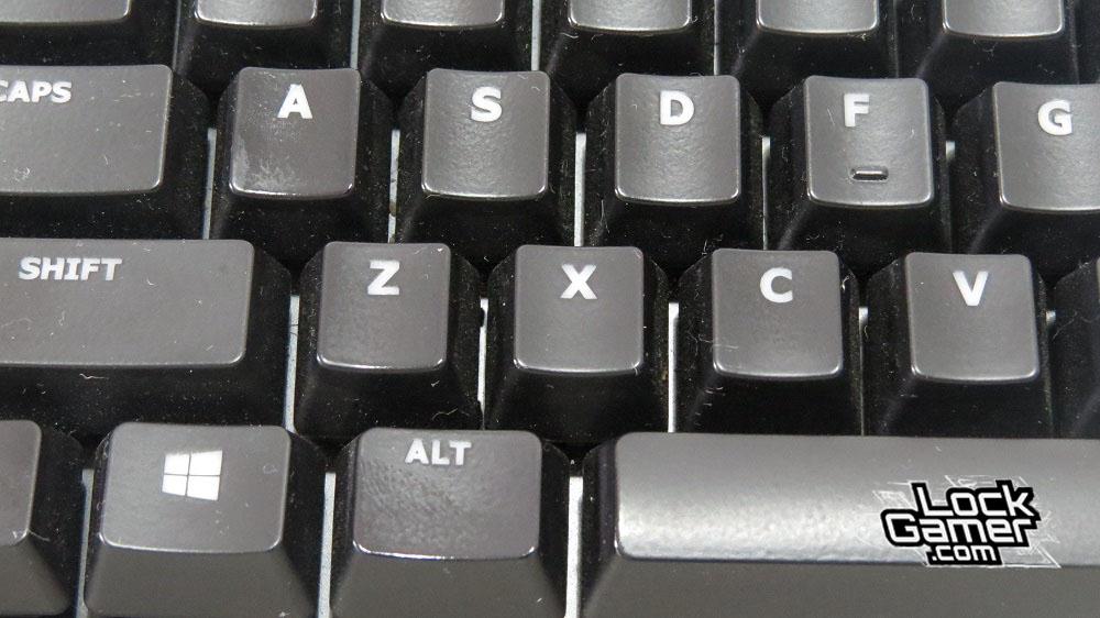 Alloy FPS teclado kyecaps manchas pintura
