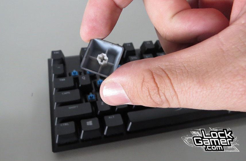 Alloy FPS teclado kyecaps normais